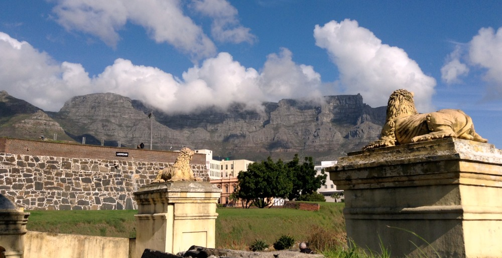 Table Mountain and castle