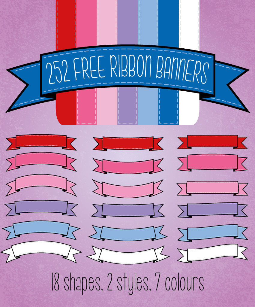 Ribbon-banner-download