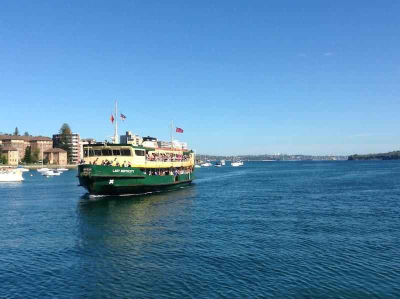 Ferry ride | Pure Sweet Joy