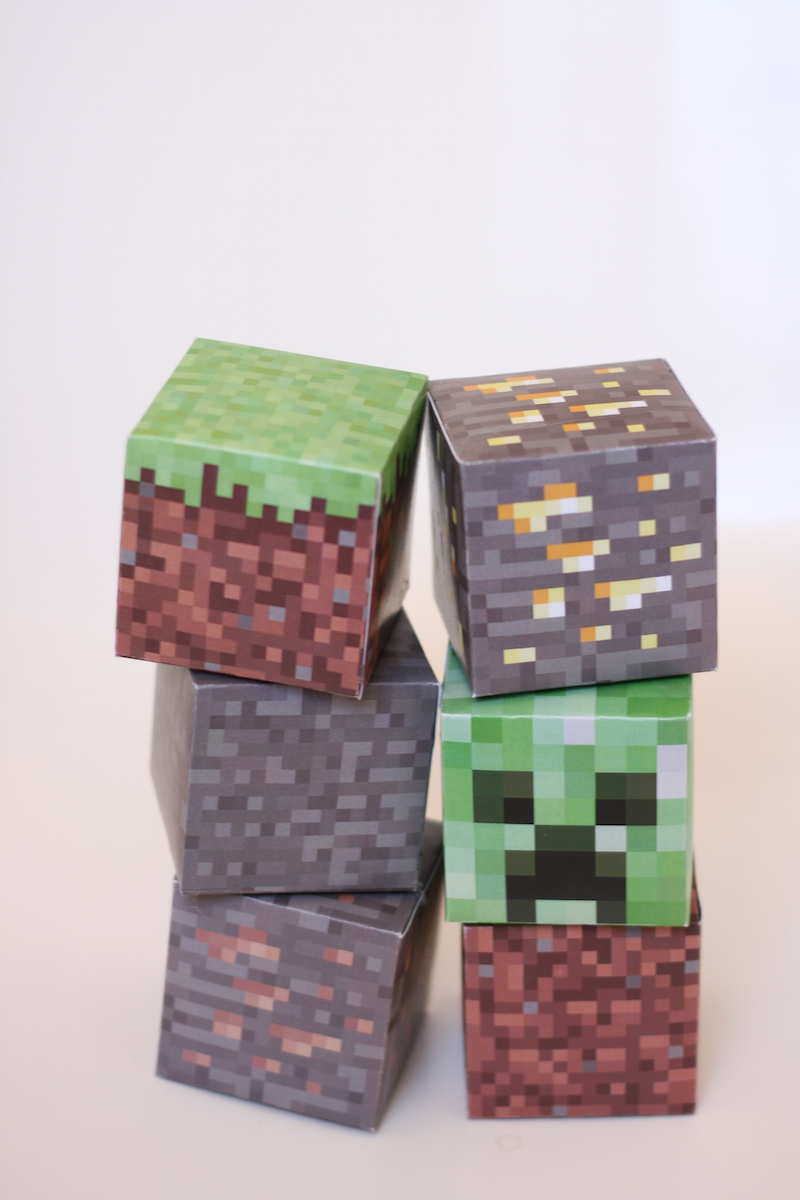 picture about Minecraft Blocks Printable identify Printable Minecraft blocks // Free of charge Down load - Purely natural Lovable Contentment