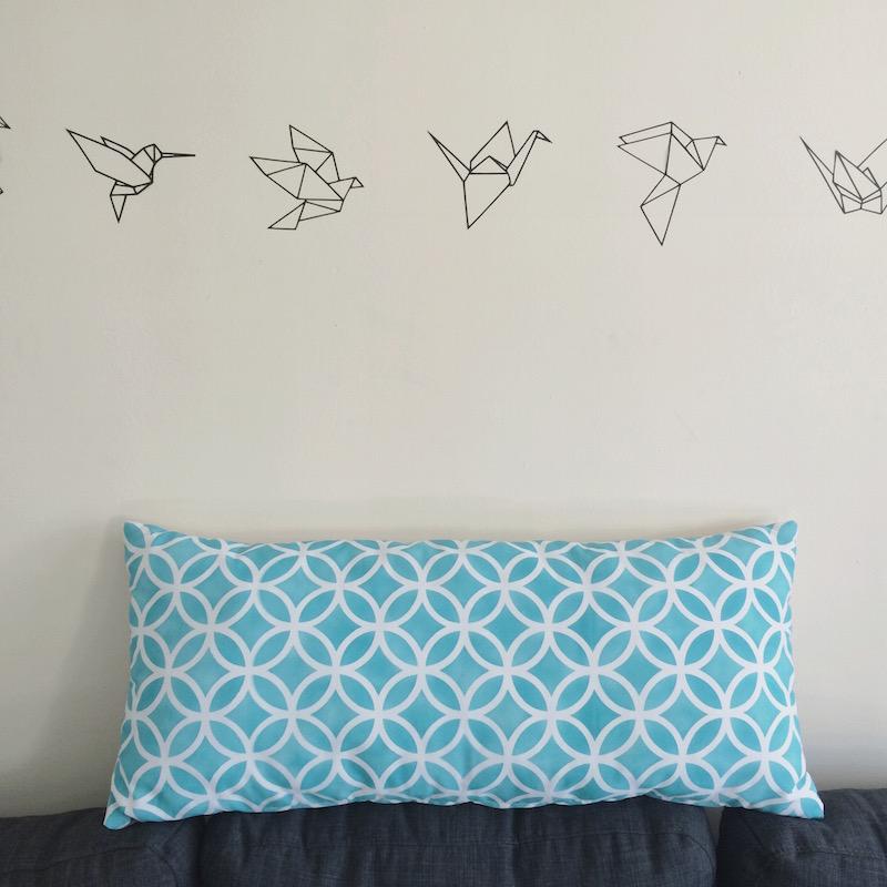 Cute bird stencil and cuchion stencil - Silhouette Cameo | Pure Sweet Joy