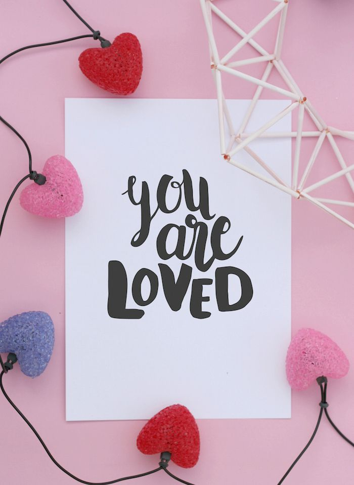 You are loved free print download | Pure Sweet Joy