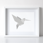 Hummingbird Print | Pure Sweet Joy
