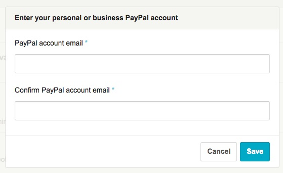 Linking PayPal to Etsy