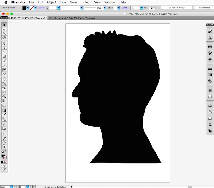Silhouette Portrait How To // Tutorial