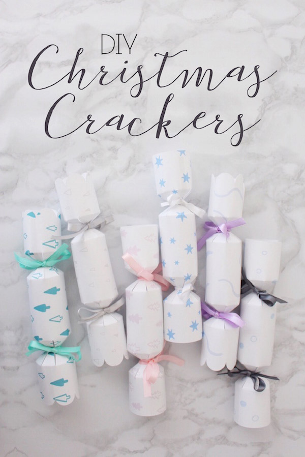 Christmas Cracker template and tutorial