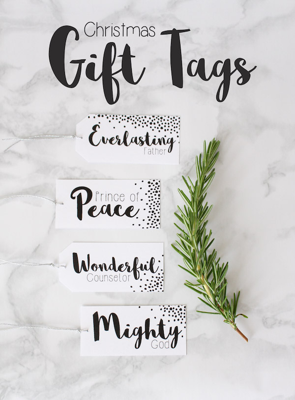 Christmas Gift Tag // Free Printable Download