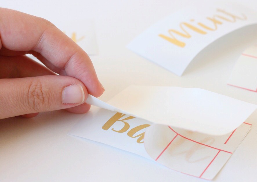 How to use transfer paper and vinyl