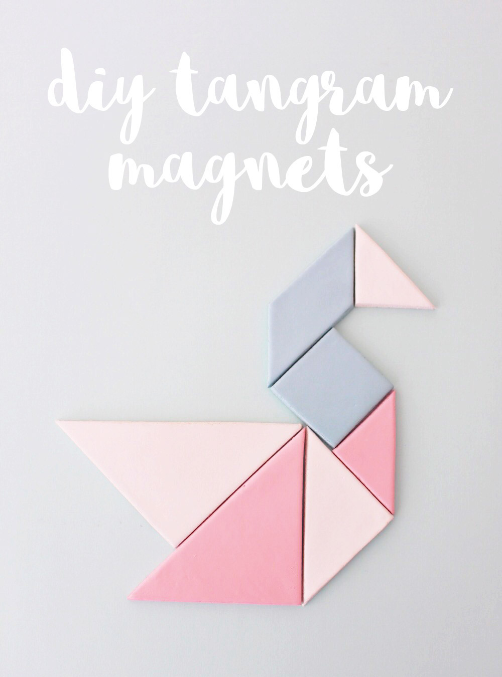Tangram Magnets // DIY