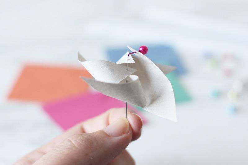 Paper Pinwheel DIY