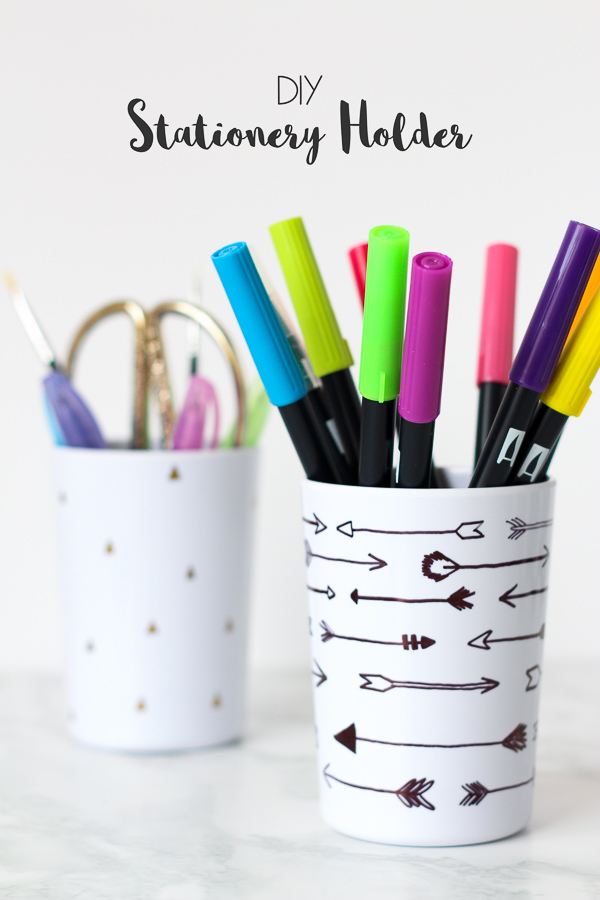 Stationery Holder DIY // Tutorial