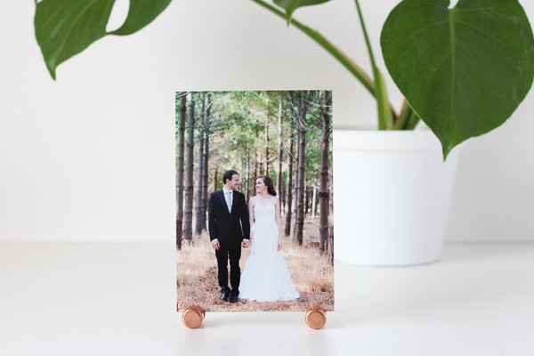 DIY Copper Photo or Note Holder // Super Simple Tutorial from Pure Sweet Joy