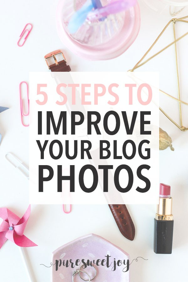 Improve blog photography tips