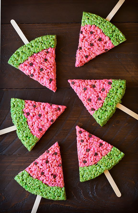12 Lovely Free Watermelon DIY Projects & Printables, including these treats // Pure Sweet Joy