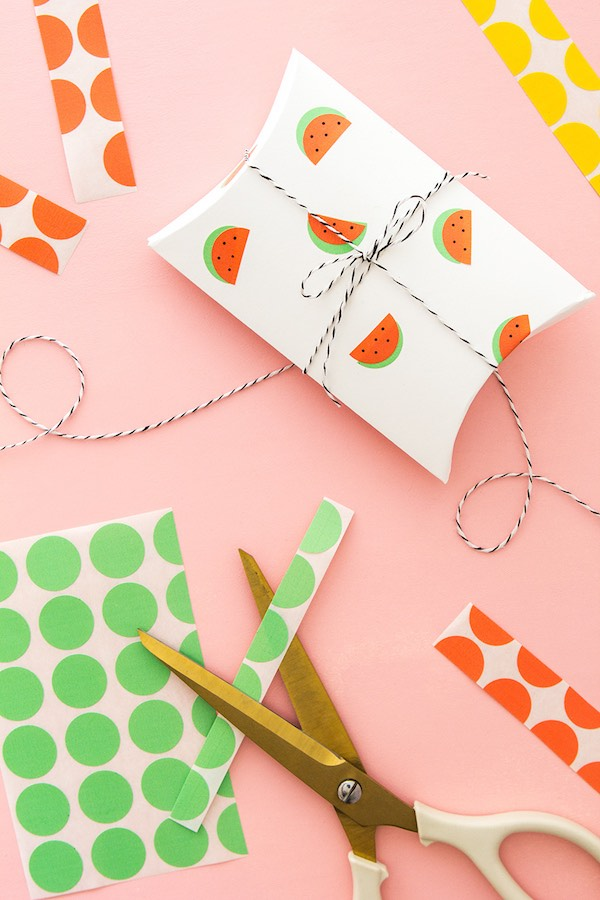 12 Lovely Free Watermelon DIY Projects & Printables, including this simple watermelon wrapping hack // Pure Sweet Joy