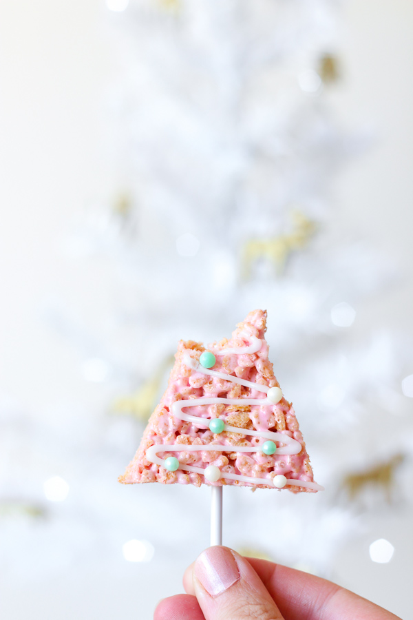Rice Krispie Treats perfect for the Christmas table