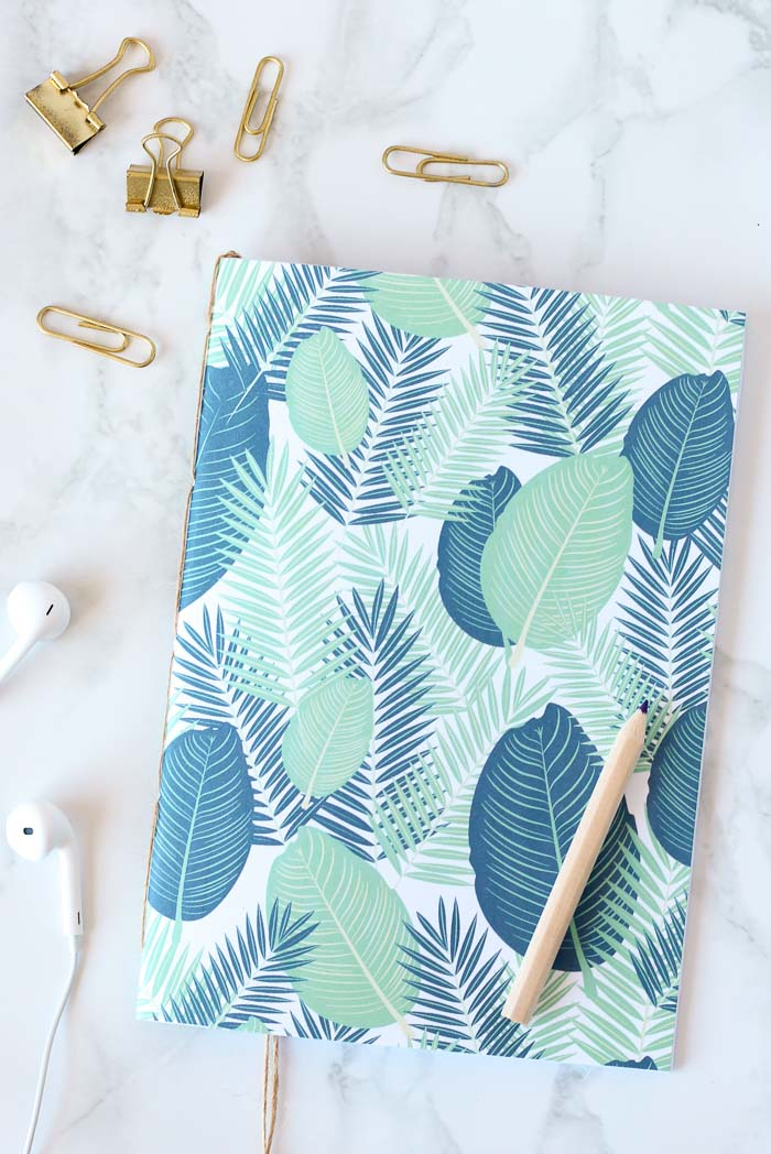 Bound Notebooks DIY // Homeology
