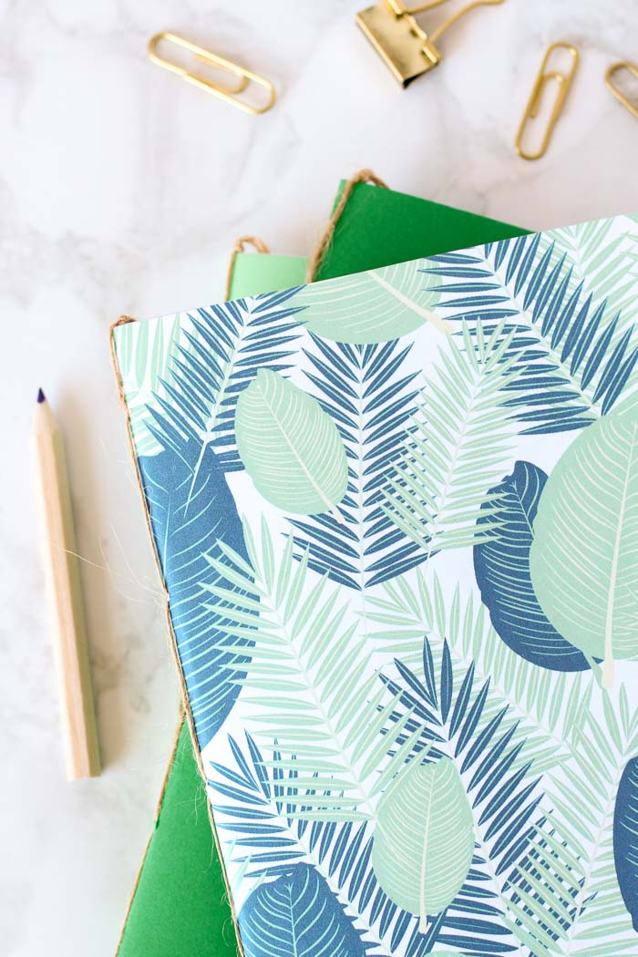 Make your own DIY bound notebooks, without using any glue or fancy tools.