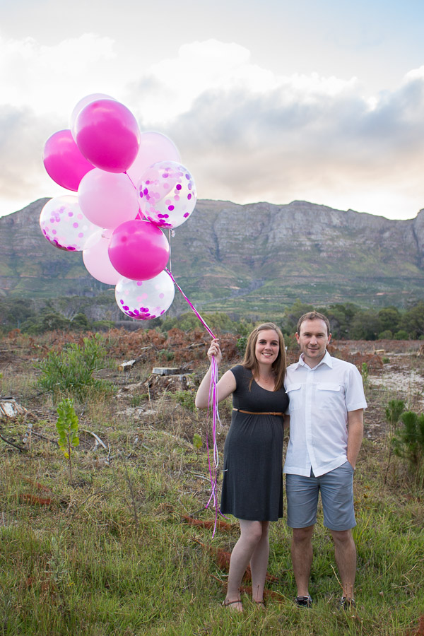 Balloon Gender Reveal - It's a girl