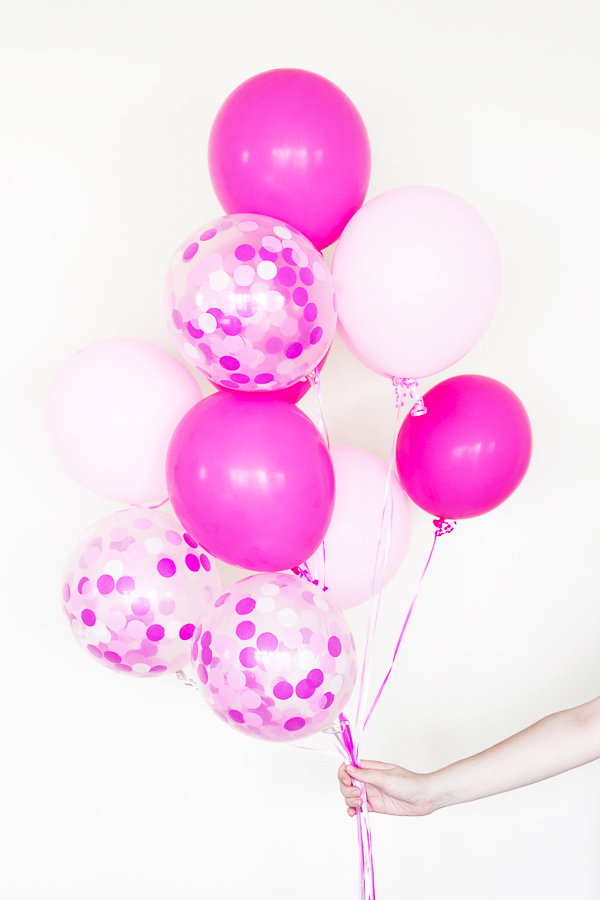 Add a little extra flair to your next party with these DIY giant confetti balloons!