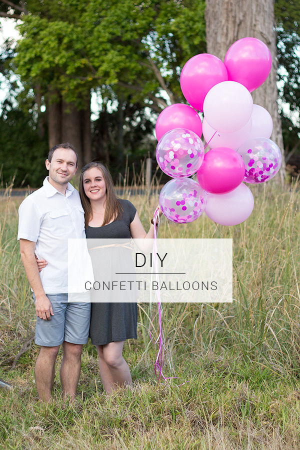 Add a little extra flair to your next party with this giant confetti balloon DIY!