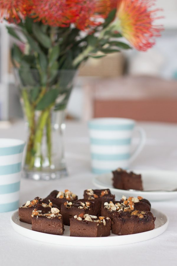 Sweet Potato and Date Brownies Recipe // Sugar, grain, gluten and dairy free