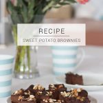 Sweet Potato and Date Chocolate Brownie Recipe // Sugar, grain, gluten and dairy free