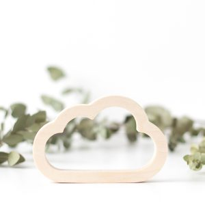 Wood Children's Room Decor- Cloud