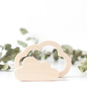 Wood Children's Room Decor- Cloud Set