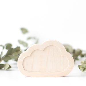 Wood Children's Room Decor- Cloud Full