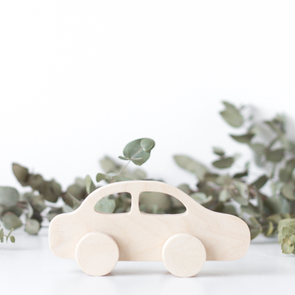 Wooden Push Toy - Car