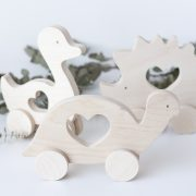 Wooden Push Toy - Animals
