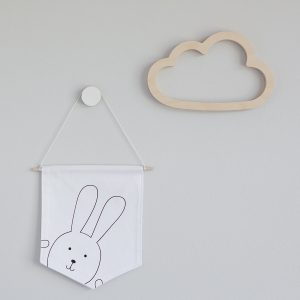 Wooden Wall Cutout - Cloud