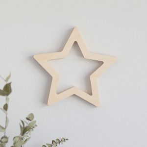 Wooden Wall Cutout - Star