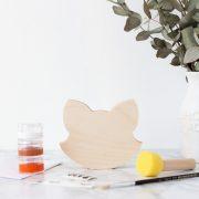DIY Wooden Fox Face - Painting Kit