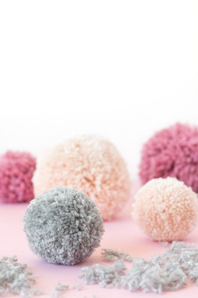 Easy Pom Pom Hack // DIY