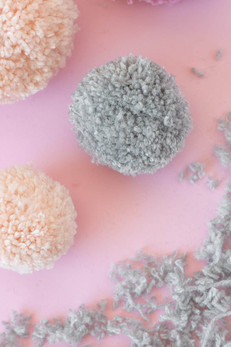 Easy Pom Pom DIY Hack