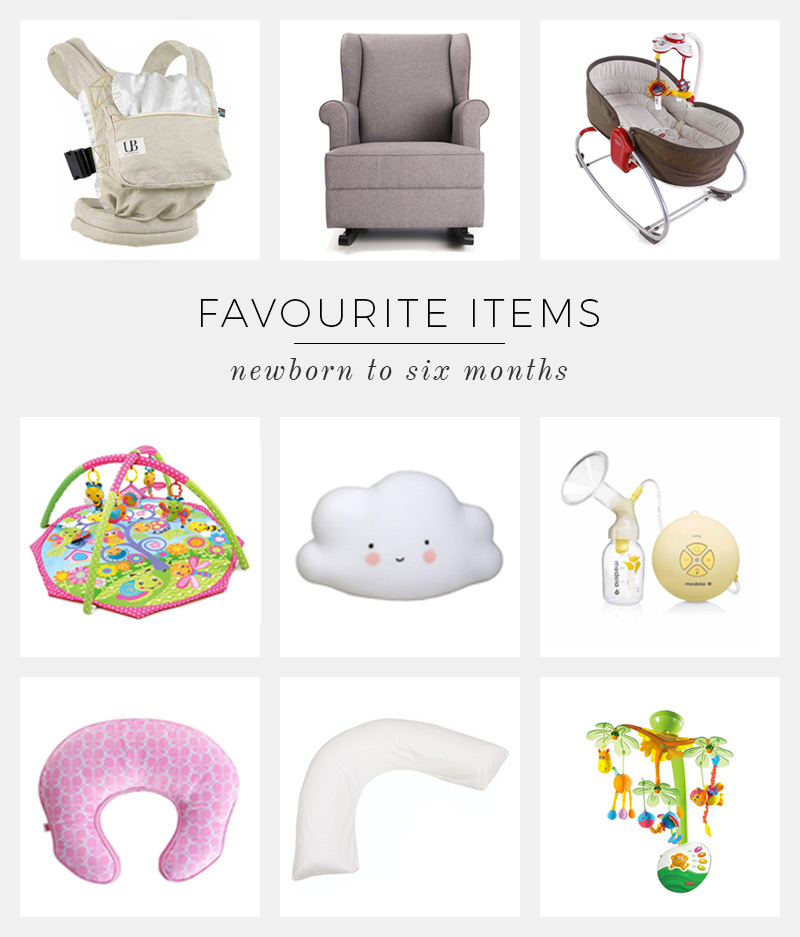 Newborn baby essentials. Favourite products to make life easier!