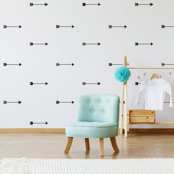 Vinyl Wall Decal - Removable Wall Decor - Tribal Arrows