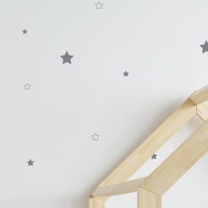 Vinyl Wall Decal - Removable Wall Decor - Stars