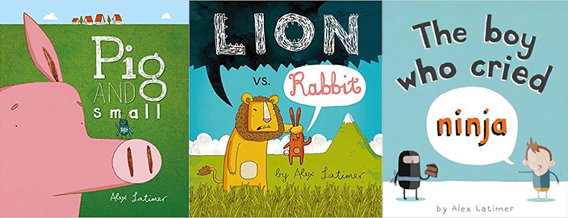 Favourite Children's Book recommendations - Alex Latimer