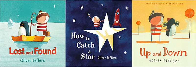 Favourite Children's Book recommendations - Oliver Jeffers
