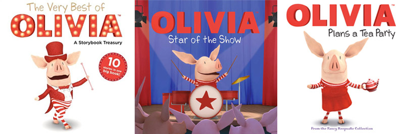 Favourite Children's Book recommendations - Olivia the Pig