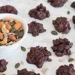 Chocolate Nut and Seed Clusters // Snack Recipe