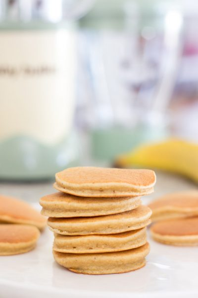 Oat Banana Toddler Pancakes Recipe // Baby Bullet