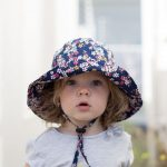 Wide brimmed Toddler Sun Hat DIY