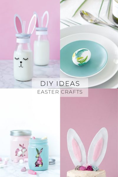 Easter Bunny Craft Ideas // Easy DIYs and Printables