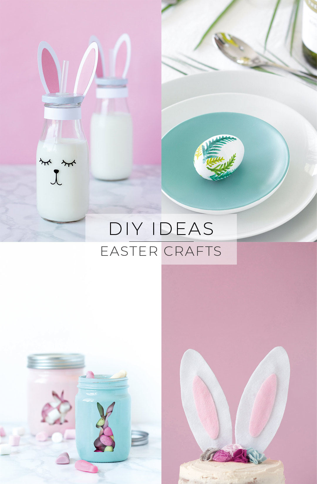 Bunny Craft Roundup Easter Diys Pure Sweet Joy