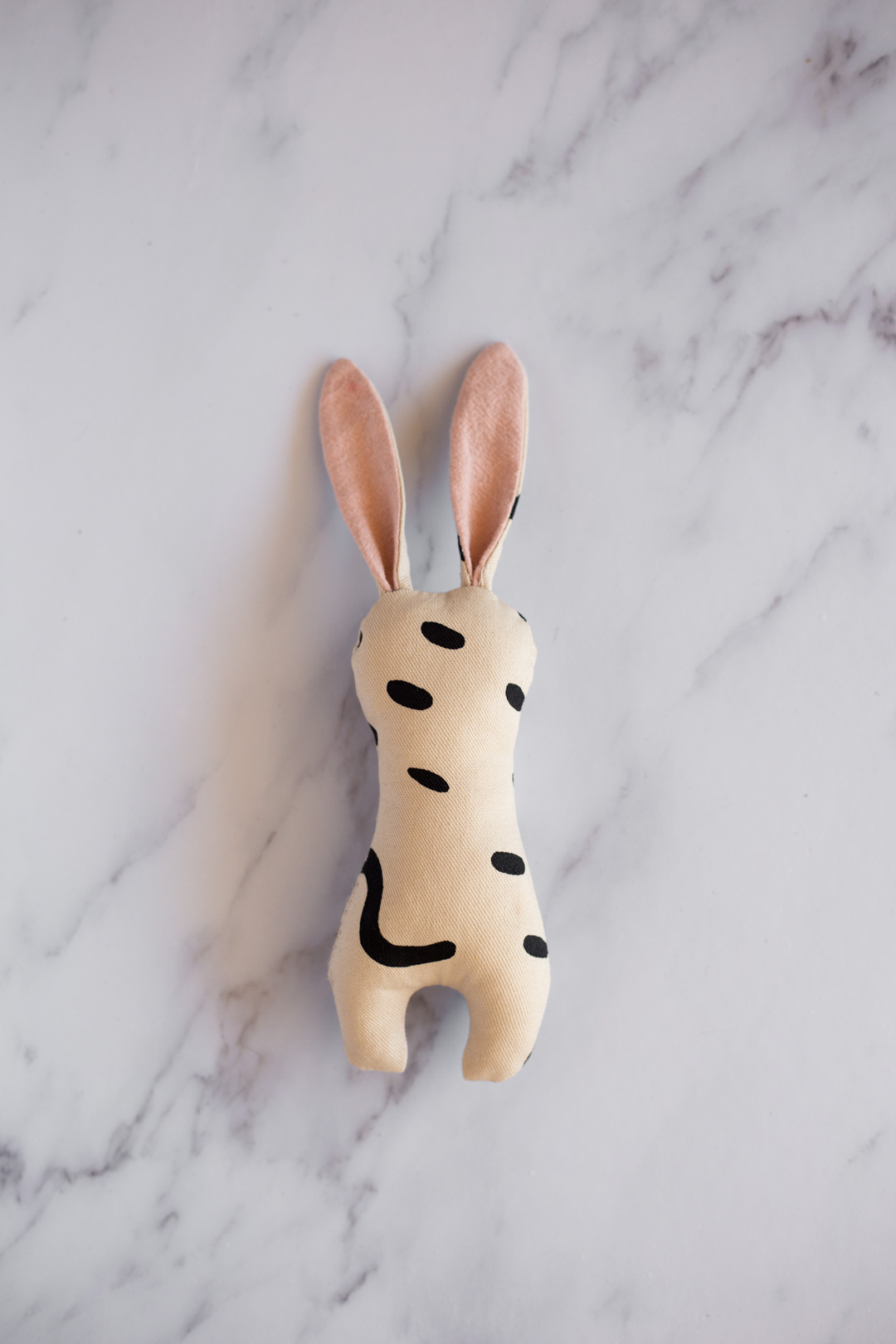 DIY Bunny Rattle - Includes free PDF pattern and SVG for Cricut