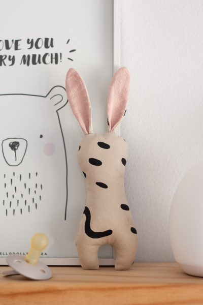 Bunny Rattle DIY // with free SVG pattern for Cricut